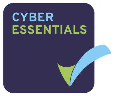 Insignia de Cyber Essentials - Smarter Technologies Group